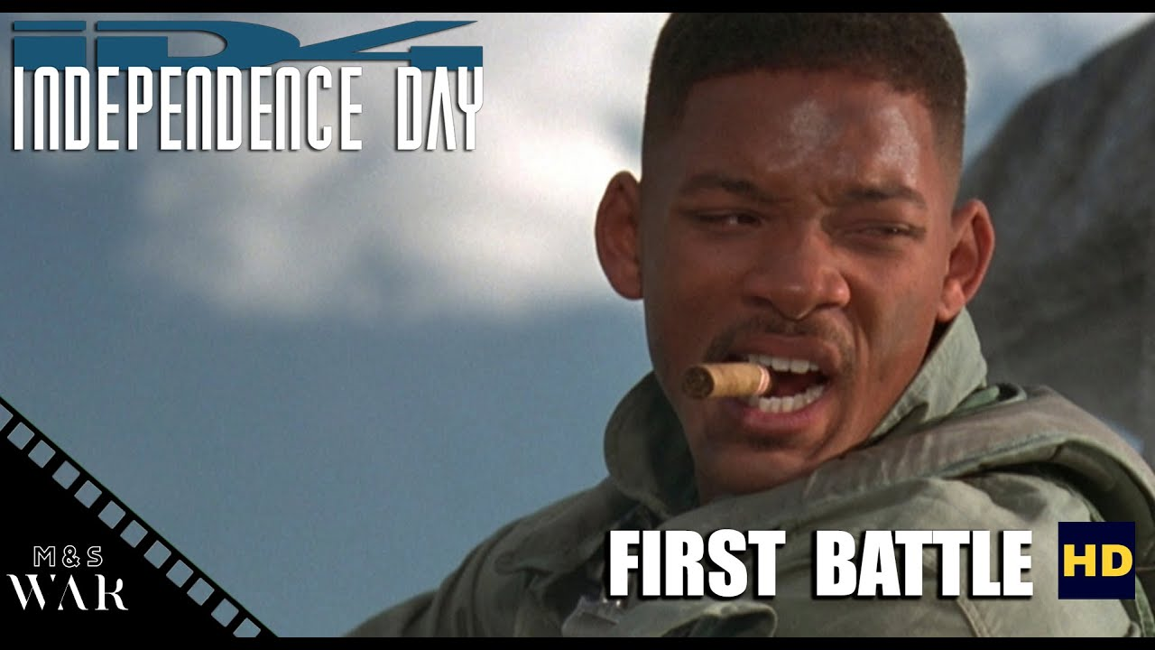 Download First battle [Independence Day 1996] [1080p] Full HD
