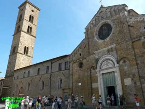VOLTERRA. la Toscana, Italia.