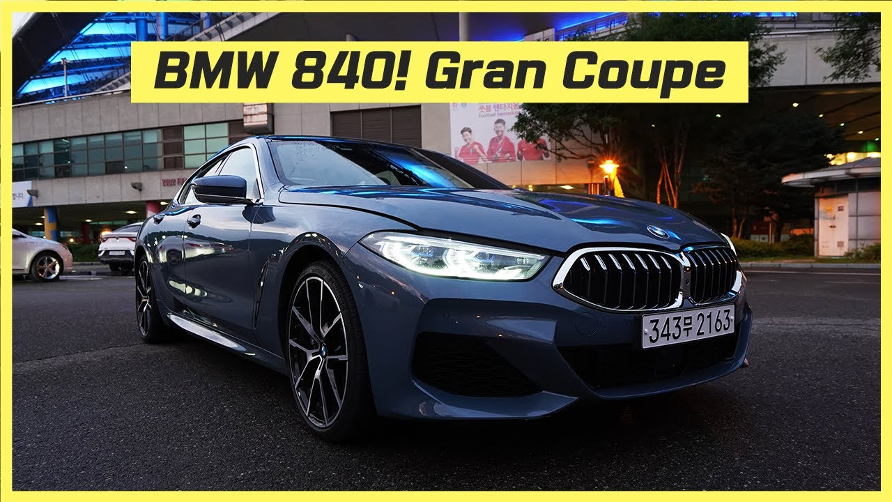 2020 BMW 840i xDrive Gran Coupe w/ M Sport PKG – What would you want more? Four door BMW is here!