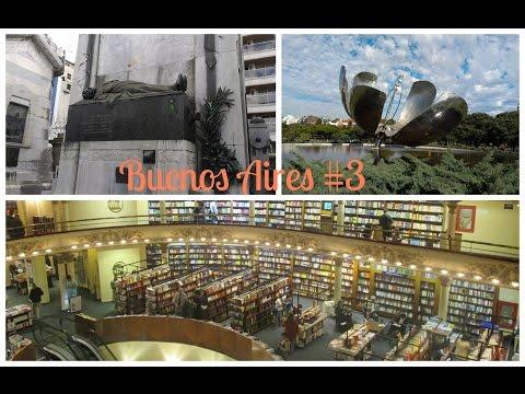 Viajar Sozinha: Buenos Aires - Argentina #3 - El Ateneo, La Recoleta e mais   Travel Vlog
