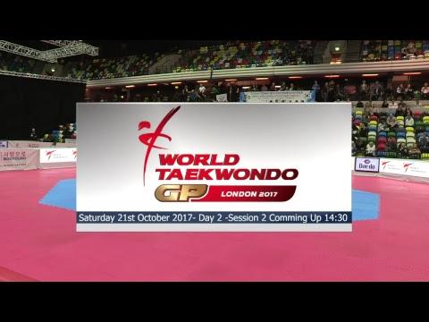 London 2017 World Taekwondo Grand Prix Day 2 - Session 1 - Mat 1