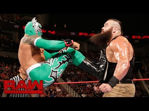 Sin Cara Vs. Braun Strowman: Raw, Sept. 5, 2016