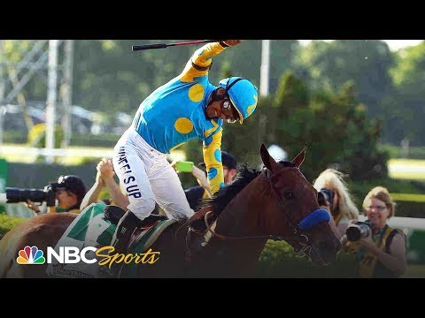 All three legs of American Pharoah's 2015 Triple Crown win I NBC Sports