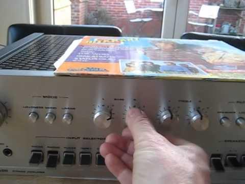 dual cv 1400 amplifier test youtube. Black Bedroom Furniture Sets. Home Design Ideas