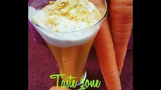 Carrot Milk Shake
