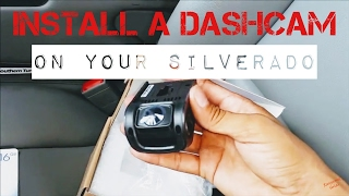 dash camera install instructions 2014 2015 silverado
