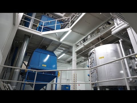 Soybean pressing plant - one-level pressing with extrusion