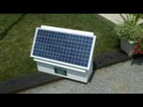 The Cyclops Solar Electric Fence Shock Box Kit from www valleyfarmsupply com