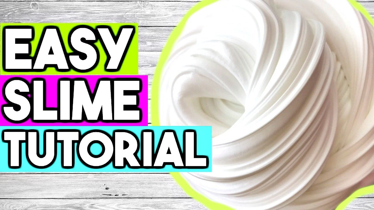 How to Make SLIME for Beginners! Best EASY Way to Make ...