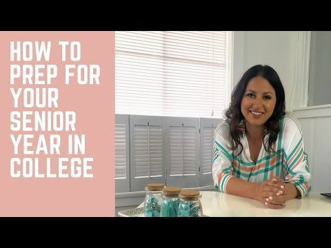How to Prepare for Your Senior Year in College! | The Intern Queen