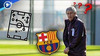 Comment Quique Setién pourrait faire jouer le Barça | Revue de presse