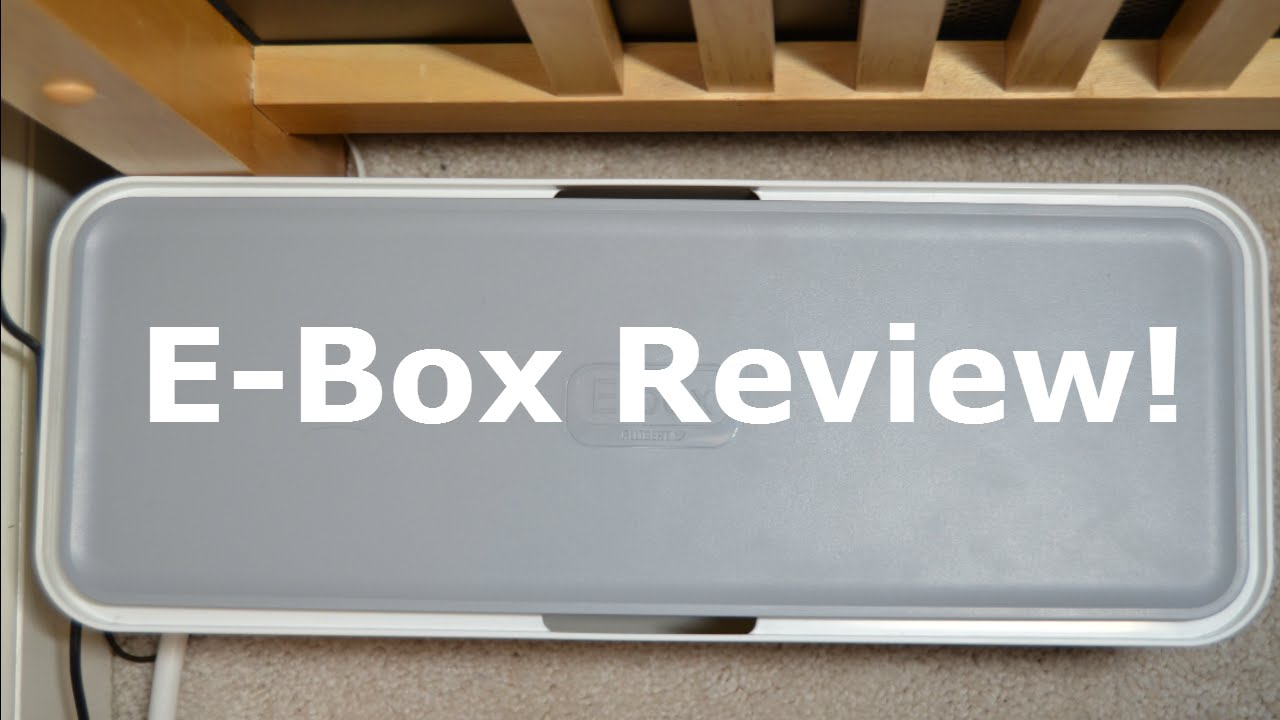 Cable Management: E-Box Review! - YouTube