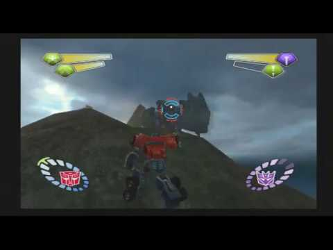 Transformers (PS2) Tidal Wave Boss Fight