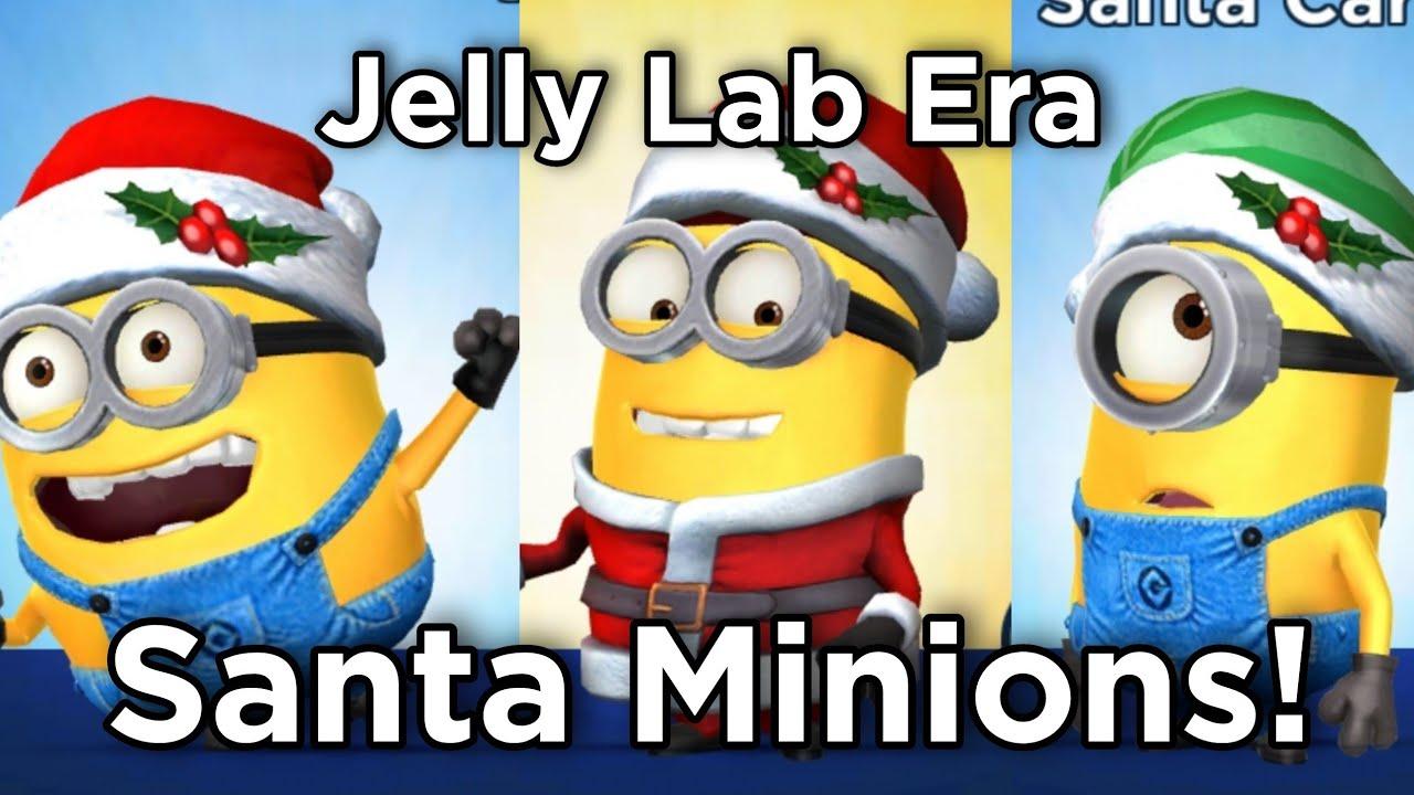CHRISTMAS! - Minion Rush - Santa Dave, Santa Carl and Santa Jerry ...