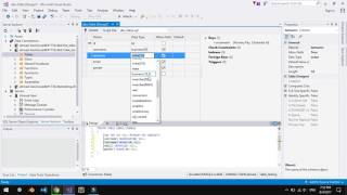 How to make local database in visual studio 2017