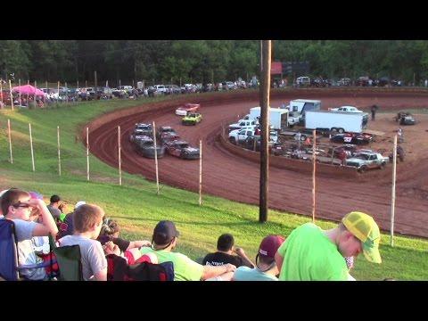 Winder Barrow Speedway Modified Street Feature Race  8/1/15
