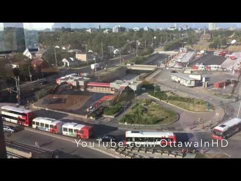 Tunney's Pasture station demolition LRT Ottawa OC Transpo