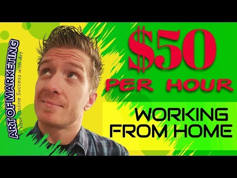 Best Work From Home Jobs 💵 (Make $25-$50/h with No Experience) 2018-2019 💵