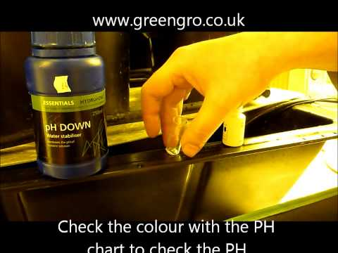 How to check and adjust PH of nutrient solution