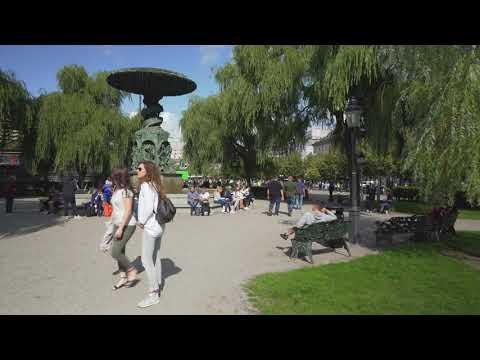 Sweden, Summer Walk In Stockholm, August 2019