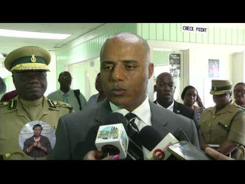 NATIONAL SECURITY MINISTER TOURS PRISON