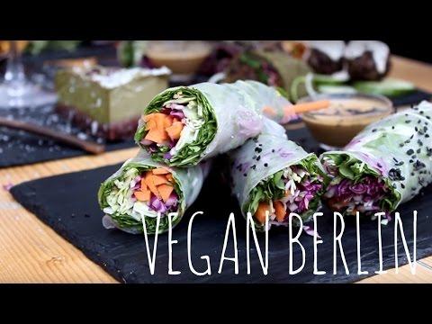 EATING VEGAN BERLIN GUIDE (Restaurants, Bistros, Cafés)