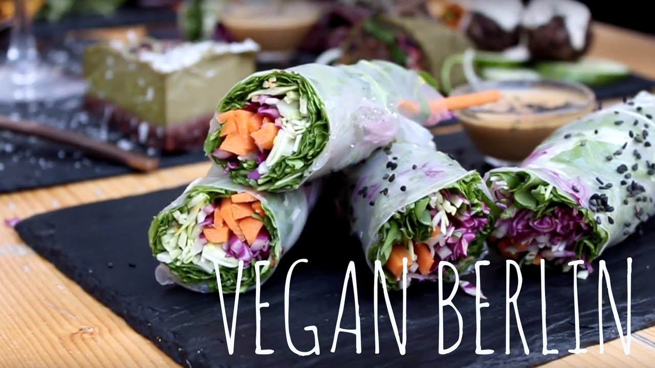 EATING VEGAN BERLIN GUIDE (Restaurants, Bistros, Cafés) - YouTube