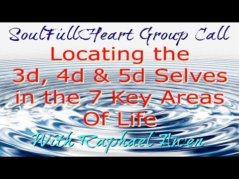 3D/4D/5D Selves - SoulFullHeart Group Call, Guided Meditation