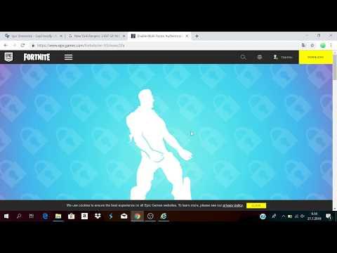 Fortnite 2fa tutorial