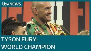 Tyson Fury: World Heavyweight Champion | ITV News