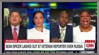 A typical Don Lemon cross-talking panel—Spicer, AprilRyan, O