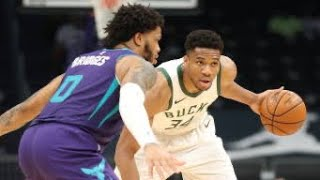 Milwaukee Bucks Vs Charlotte Hornets Full Game Highlights   April 27   2021 NBA Season