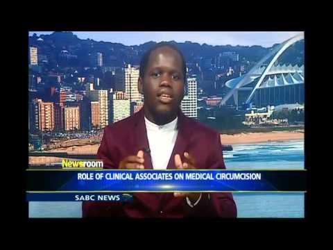 Sanele on SABC newsroom