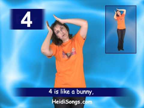 Four Song - Jumpin' Numbers & Shakin' Shapes