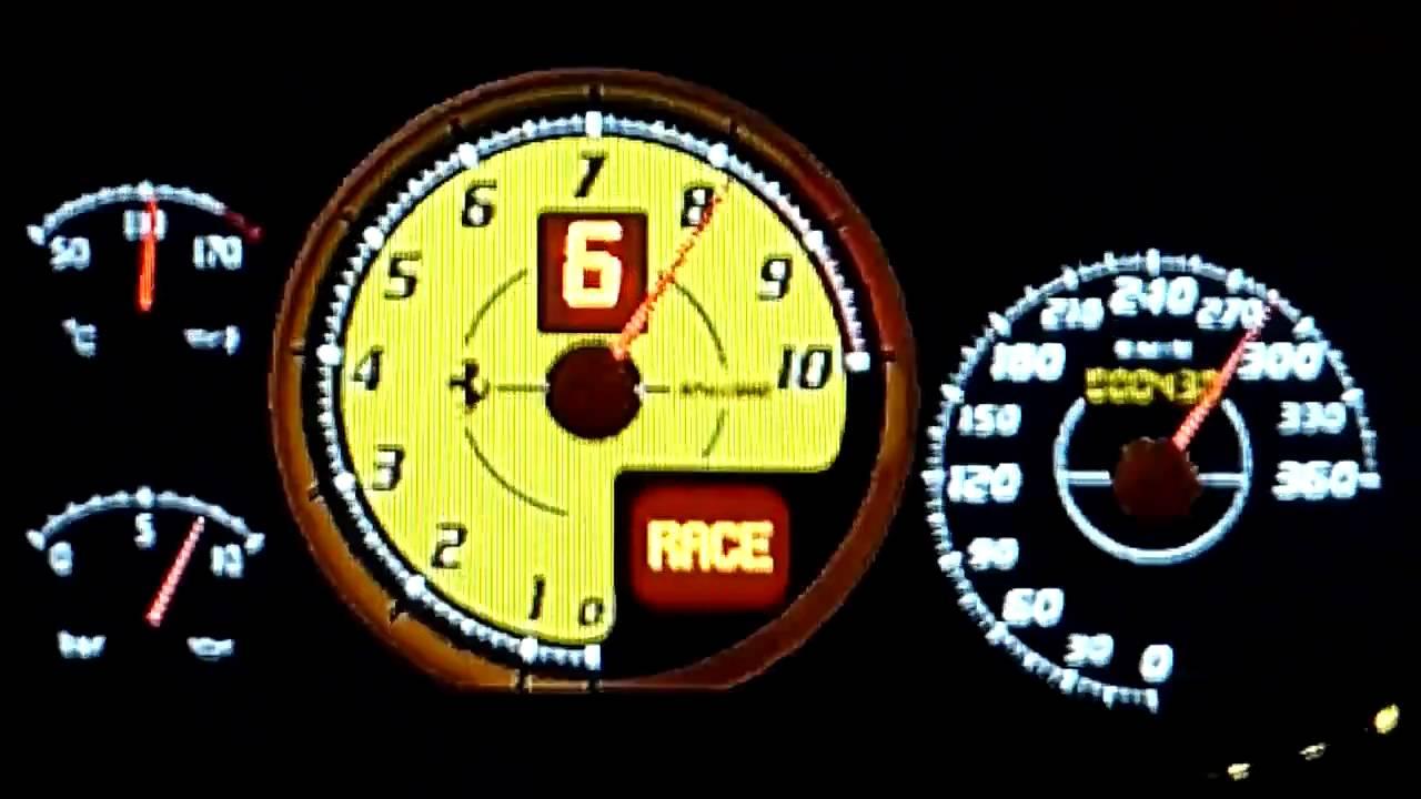 HD] GT5: Ferrari F430 Scuderia Top Speed Run - YouTube