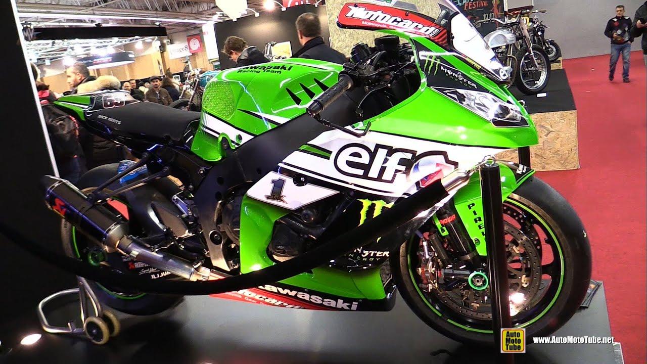2015 Kawasaki Ninja ZX10R KRT SBK   2015 Superbike Champin Jonathan Rea #65  Bike   Walkaround   YouTube