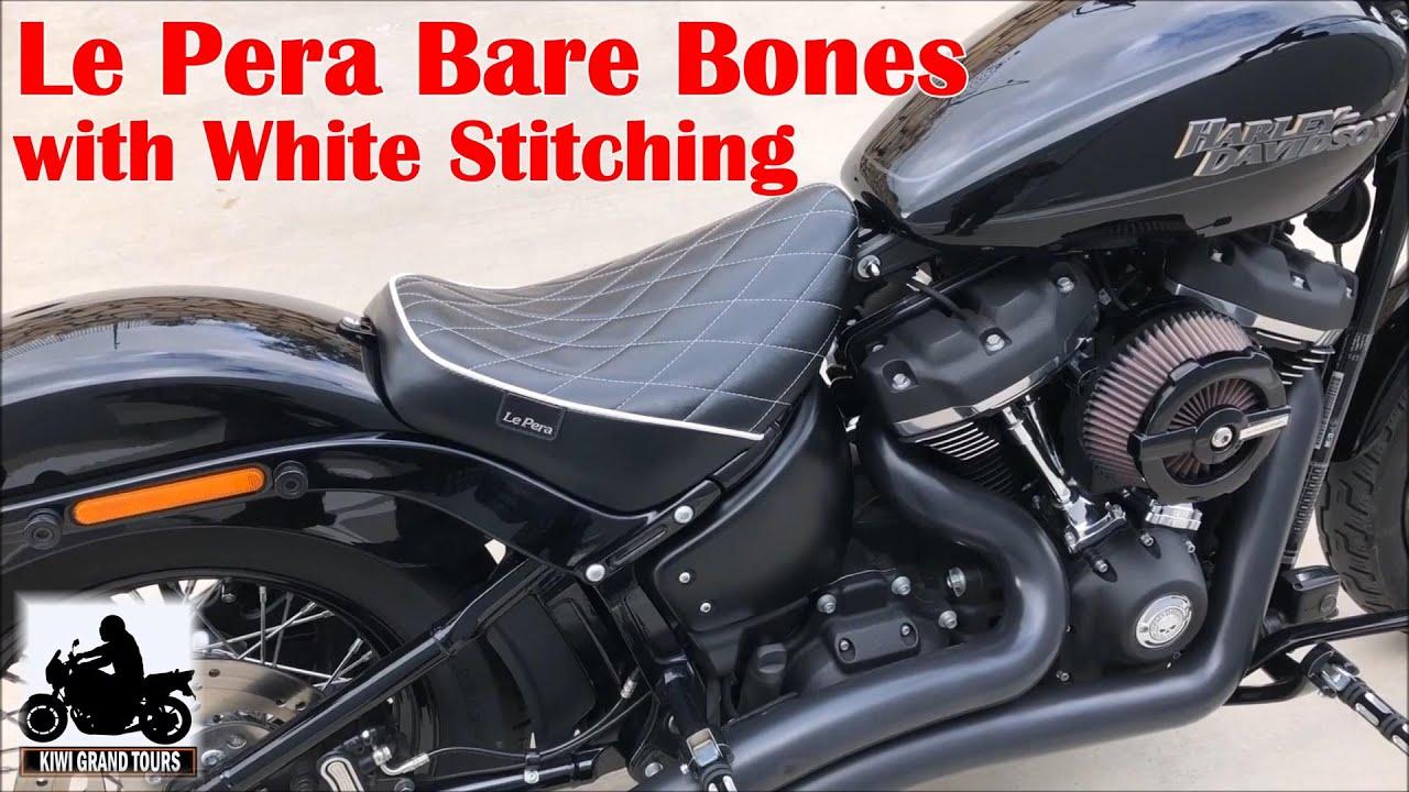 /2015 Le Pera Bare Bones solo Street Bob Modelos 06/