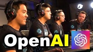 OpenAI vs HUMANS - AI vs 99.95% BEST PLAYERS 5v5 DOTA 2