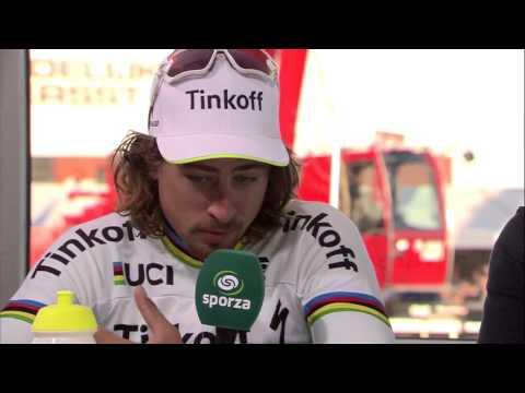 Interview Peter Sagan after E3 Harelbeke (via Sporza) (1)