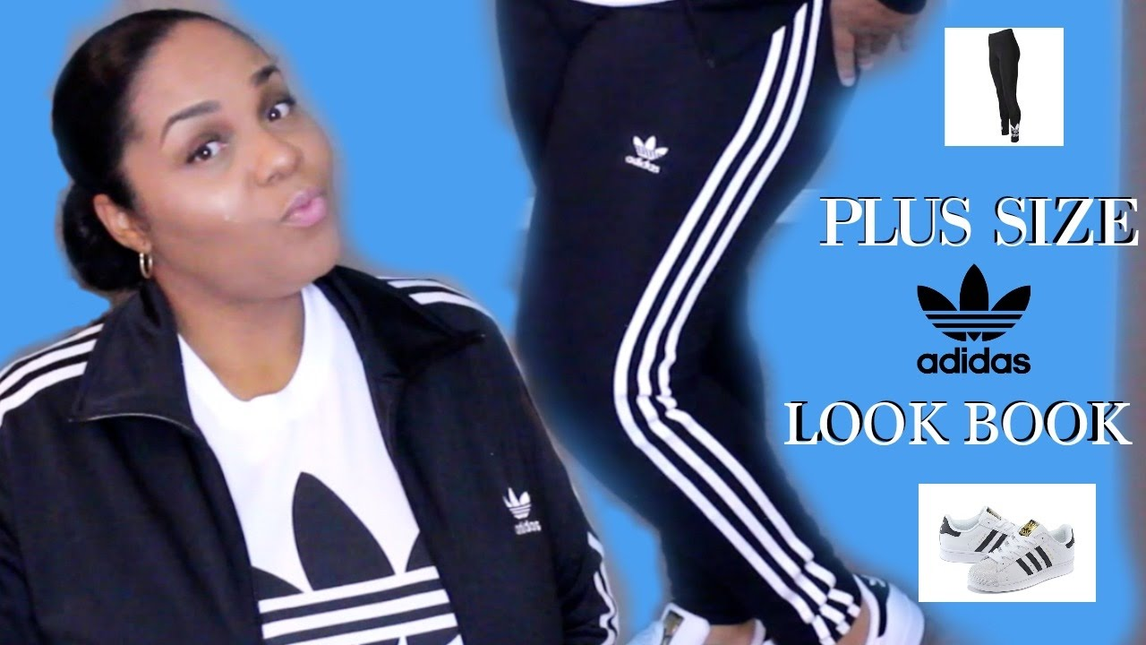 PLUS SIZE OOTD / FT ADIDAS SUPERSTAR - YouTube