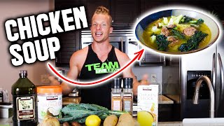 Fill Up & Lean Out With Chicken Kale Soup