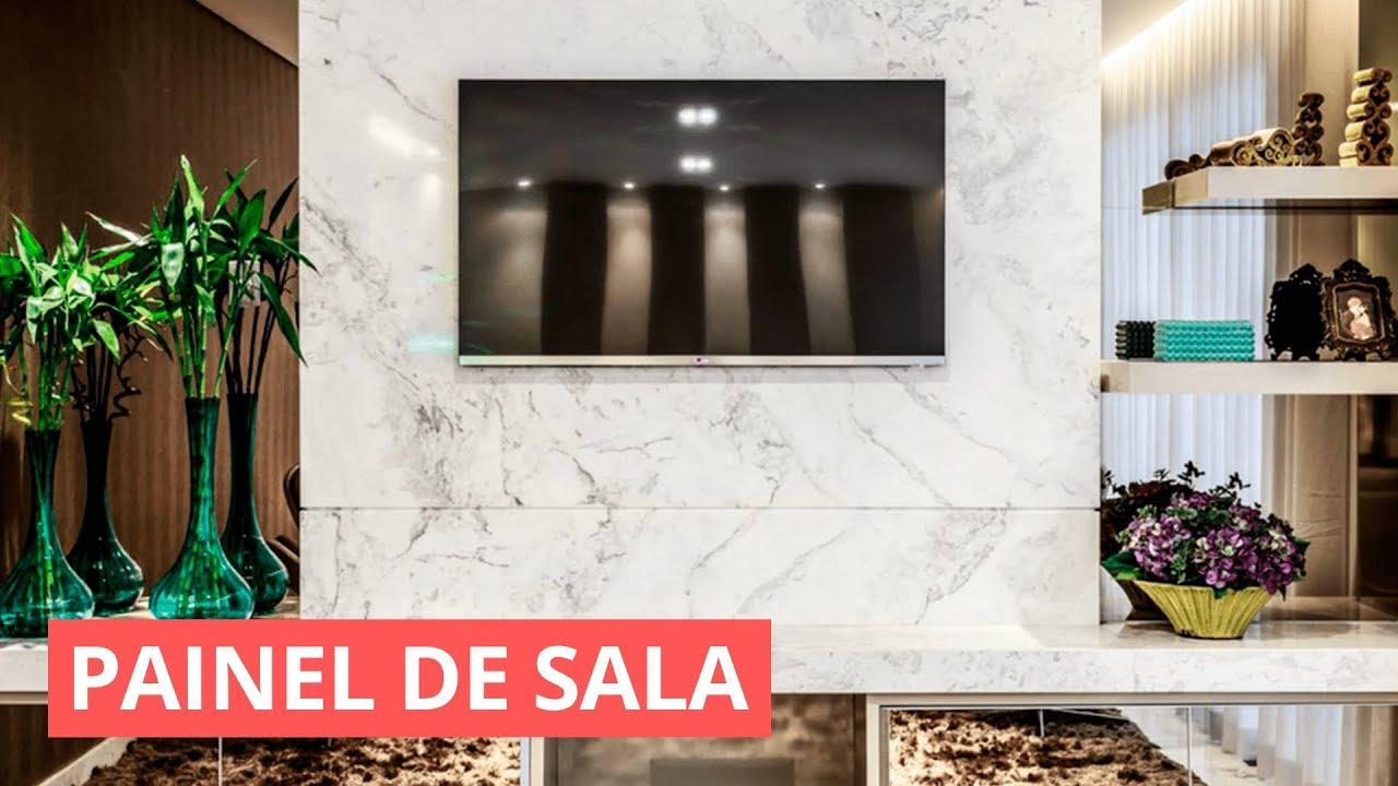 PAINEL DE SALA PARA TV IDEIAS DE COMO DECORAR YouTube