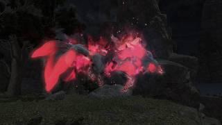 Kyubi Mount Kamuy of the nine tails Final Fantasy XIV FF14
