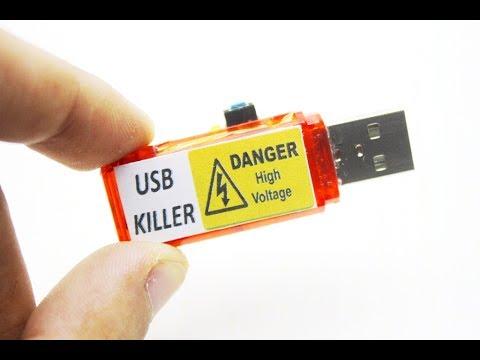 USB KILLER! своими руками!