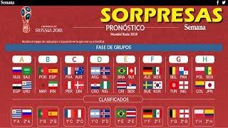 Pronóstico del Mundial Russia 2018 - Este Equipo ganará el Mundial
