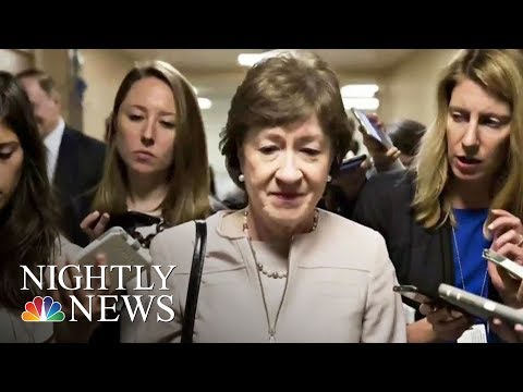 GOP Health Care Bill Doomed After Senator Susan Collins Announces She's A 'No' | NBC Nightly News