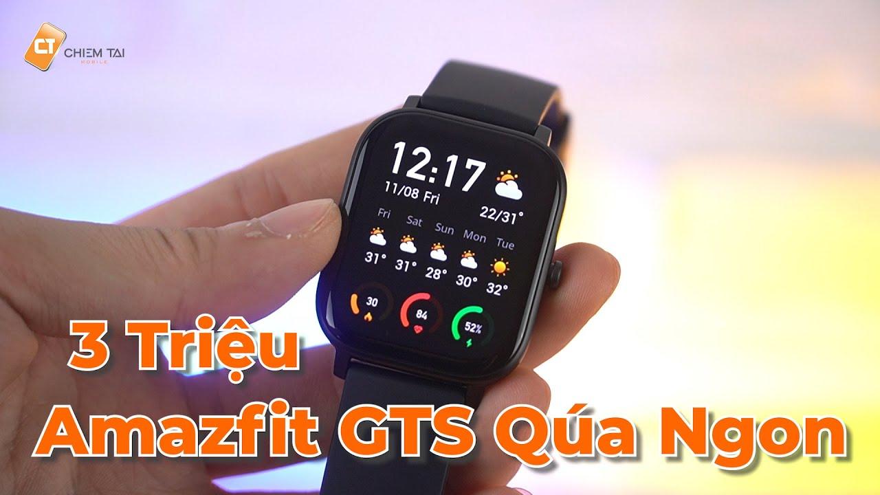 Đồng Hồ Amazfit GTS Quốc Tế – Hơn 2 Triệu Quá Nhiều Điểm Ngon Để Tậu Ngay Em Nó!