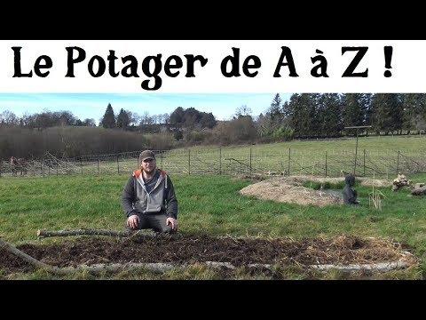 Le Potager de A à Z -1- (le commencement)
