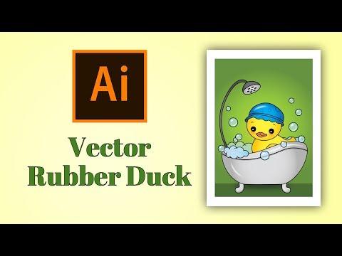 Adobe Illustrator Tutorial - Vector Rubber Duck thumbnail
