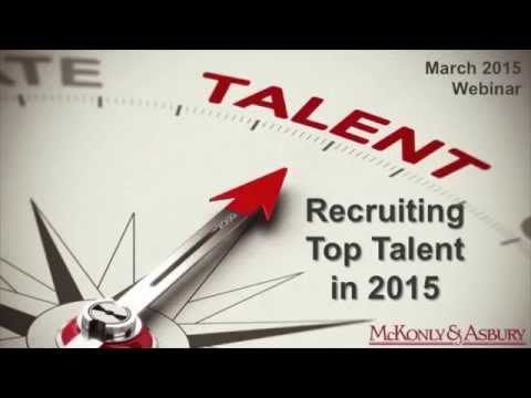 Recruiting Top Talent in 2015